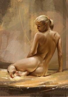 Golden study by Tsabo6.deviantart.com on @DeviantArt