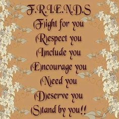 Thought For The Day...Friendship http://pattymattson.com/thought-day-23/