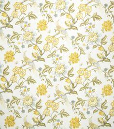 Upholstery Fabric-Jaclyn Smith France  Lemon Zest