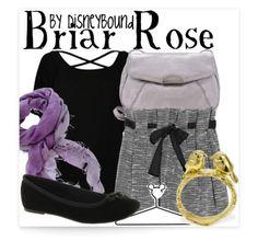Disney Bound Briar Rose outfit
