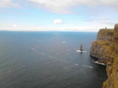 The Cliffs of Moher in Co. Clare, Ireland