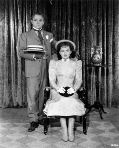 James Cagney, Olivia de Havilland-- The Strawberry Blonde This film is one of my favorites!