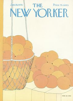 The New Yorker - Monday, January 19, 1976 - Issue # 2657 - Vol. 51 - N° 48 - Cover by : Gretchen Dow Simpson