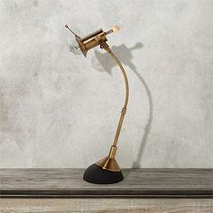 Franklin Brass Bending Task Lamp | Arhaus Furniture