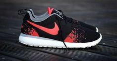 Nike Roshe Run 'Hot Lava' Customs - KicksOnFire.com