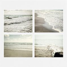 The Beautiful Sea. Fine Art Beach Decor Print Set.
