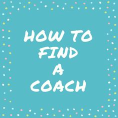 So you're ready to take your racing to the next level. Or maybe you're just struggling with planning out your training plan. Maybe it's time to find a coach!
