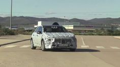 2018 Mercedes A Class spied testing in Spain - Video