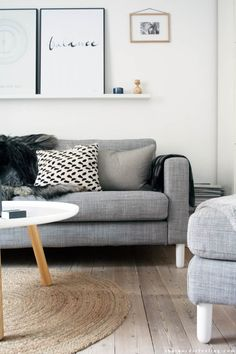 Sofa mini make over by that nordic feeling
