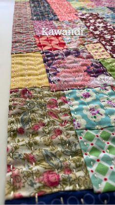 Patchwork Quilt Patterns, Patchwork Fabric, Scrappy Quilts, Quilt Patterns Free, Fabric Scraps, Sewing Patterns, Quilting Tutorials, Quilting Projects, Quilting Designs