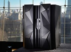 Quick look inside IBM's snazzy new mainframe