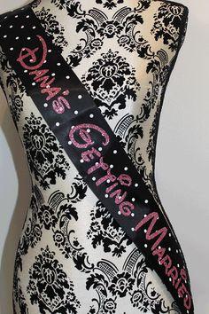 Bachelorette sash - disney theme, disney bachelorette, disney wedding on Etsy, $22.00