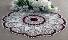doily pattern here on my page