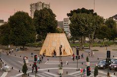 Pabellón CCP,© Gino Zavala Bianchi