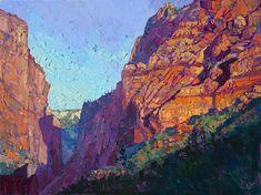 Les-tableaux-style-impressionnistes-des-parcs-naturels-de-Erin-Hanson-11