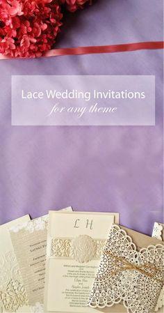 #laceinvites #weddinginvites