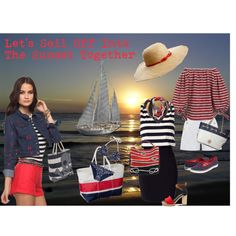 Let's Sail Off Into The Sunset Together, created by maggiesuedesigns on Polyvore