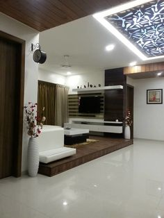 Pooja Room Designs in Hall Pooja Room my space Pinterest