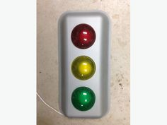 Three colors light up individually by pressing and clicking on and off each light. Used Victoria, Traffic Light, Light Up, Light Colors, Bright Colours