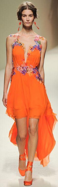 naranja floral
