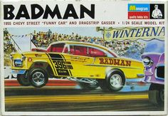 With the car-customizing craze feeding the model-building hobby, kits were flying off the shelves, and Monogram was fighting a battle of the boxes with rival Revell. Description from jalopnik.com. I searched for this on bing.com/images
