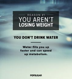 The Drinking Mistake That's Costing You Pounds. Reason number one you aren't losing weight: you're not dining enough water. Water fills you up faster and helps speed up metabolism. Weight Lifting, Weight Loss Tips, Losing Weight, Michelle Lewin, Weight Loss Motivation, Fitness Motivation, Fitness Diet, Health Fitness, Female Fitness