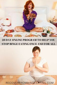 This is a 28 day online program to help people who don't have access to treatment for binge eating disorder. This program will help you recover from binge eating on your own with the support of an online group, lots of meditations, videos and homework to help you go deeper into your thought process. Hundreds of women have already been through the program and have found deep recovery and peace on the other side of food addiction.