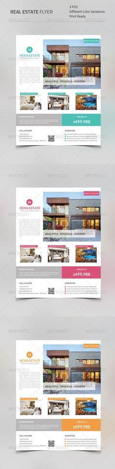 Flyer Template Real Estate v3 u2026 Pinteresu2026 - real estate newsletter template