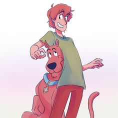 """taytei: """"i've been rewatching scooby doo a lot lately and it's just reminding me exactly why it was, and still is, my favorite childhood cartoon"""""""