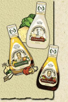 Newman's Own -   I Buy Many Of The Different Newman's Own Products -Great Products - Great Cause !