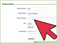 Image titled Sell Your Products on Alibaba Step 9