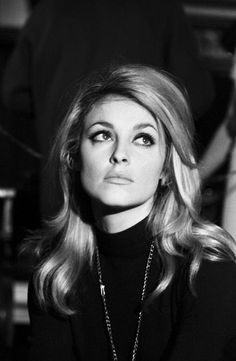 Sharon looking a little pensive on the set of Eye Of The Devil, 1966.