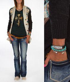 'Lucky Blues' #buckle #fashion www.buckle.com