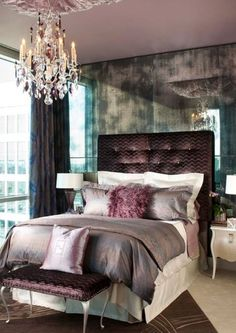 Room Ideas With Purplefor Teen Girls 2020 11 Best 2020 Guest Room 1 images | Purple headboard, Guest