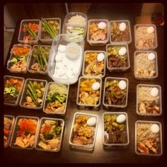 Love meal prepping for the week.