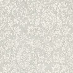 302-66886 Grey Damask Motif - Ornament - Beacon House Wallpaper