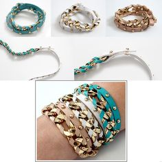 Need to get more into bracelets.  Love the wrap bracelets.  Wish my wrists weren't so small!