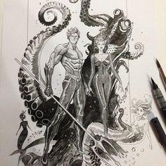 Aquaman by Dan-Mora.deviantart.com on @DeviantArt