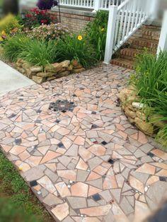 Mosaic Sidewalk