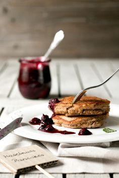 Hazelnut Pancakes with Chia Jam | Foodlovin'