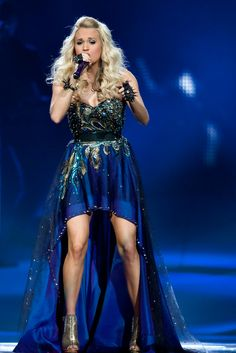 Carrie Underwood, looking amazingly sexy, while performing on her Blown Away Tour in 2012 & 2013!!!