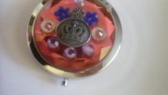 Bejeweled COMPACT MirrorCOSMETIC by CedarCoveCreations on Etsy