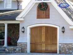 Heritage Classic Model CLH0A Meranti Garage Door