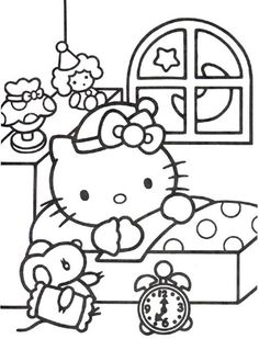 Hello Kitty Coloring Hello Kitty Colouring Pictures Inkleur