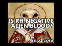 personas con sangre RH negativo tendrían ADN extraterrestre