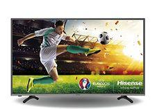 Hisense H43MEC3050 108 cm (43 Zoll) Fernseher (Ultra HD, Triple Tuner, DVB-T2 HD, DVB-T2 HD, Smart TV) schwarz