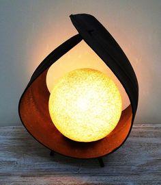Designer table lamp, home decor lighting, Coconut Handmade Desks, Handmade Lamps, Desk Lamp, Table Lamp, Lamp Shades, Craft Work, Ceiling Lamp, E Design, Handicraft