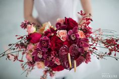 WedLuxe– Beauty in the Darkness: A Fine Art-Inspired Styled Shoot | Photography by: Cadence & Eli Follow @WedLuxe for more wedding inspiration!