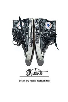 """Short person with a big personality."" #chucktaylor made by Maria Hernandez"