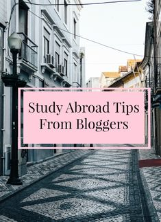 Study Abroad and Travel Tips from Bloggers | One-Question Interview Vol. 3 | The Beautiful Little Fools
